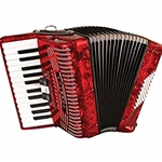 Hohner 1304-RED 48 Entry Level Piano Accordion